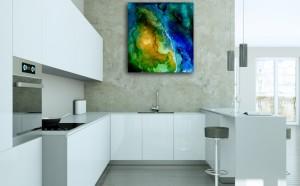 Satelite View in kitchen