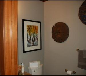 Aspen in bathroom Ritz Carlton Tahoe