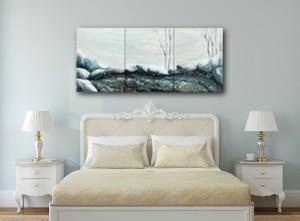 Winter Triptych in Room