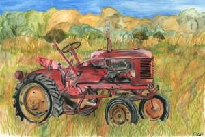 Tractor 12x18 72dpi